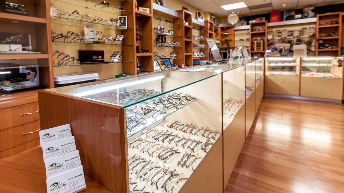 Eye Glasses and Contact Lenses at Vision Center NY Bronx Optical
